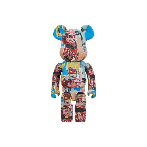MEDICOM JEAN MICHEL BASQUIAT #6 BE@RBRICK 1000% - MULTI