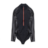 WOMEN'S AIR JORDAN COURT-TO-RUNWAY BODYSUIT - BLACK