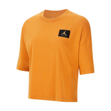 WOMEN'S AIR JORDAN ESSENTIAS BOXY TEE - RUSSET