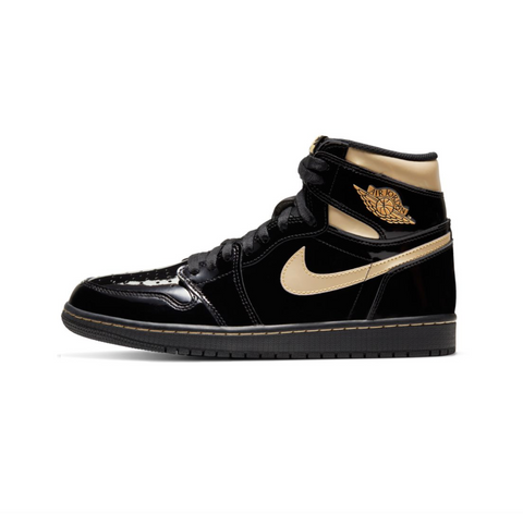 AIR JORDAN 1 RETRO HIGH OG - BLACK/ METALLIC GOLD-BLACK
