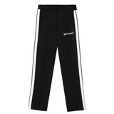 PALM ANGELS CLASSIC SLIM TRACK PANTS -  BLACK/ WHITE