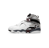 WOMEN'S AIR JORDAN 8 RETRO - WHITE/HYPER BLUE-BLACK-NEUTRAL GREY