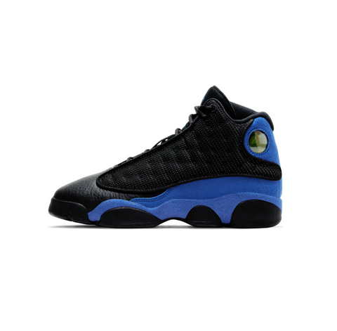 AIR JORDAN 13 RETRO GS - BLACK/HYPER ROYAL-BLACK-WHITE