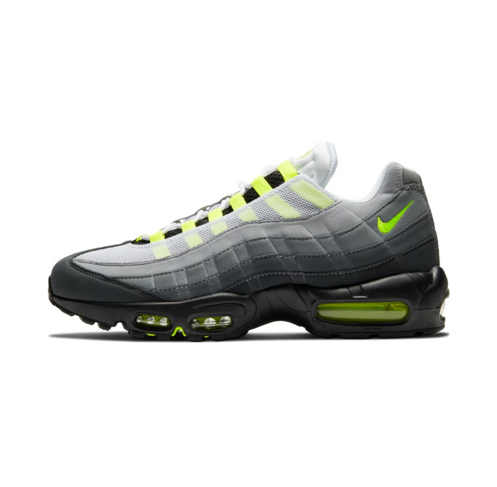 NIKE AIR MAX 95 OG - BLACK/NEON YELLOW-LT GRAPHITE