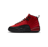 AIR JORDAN 12 RETRO GS - VARSITY RED/BLACK