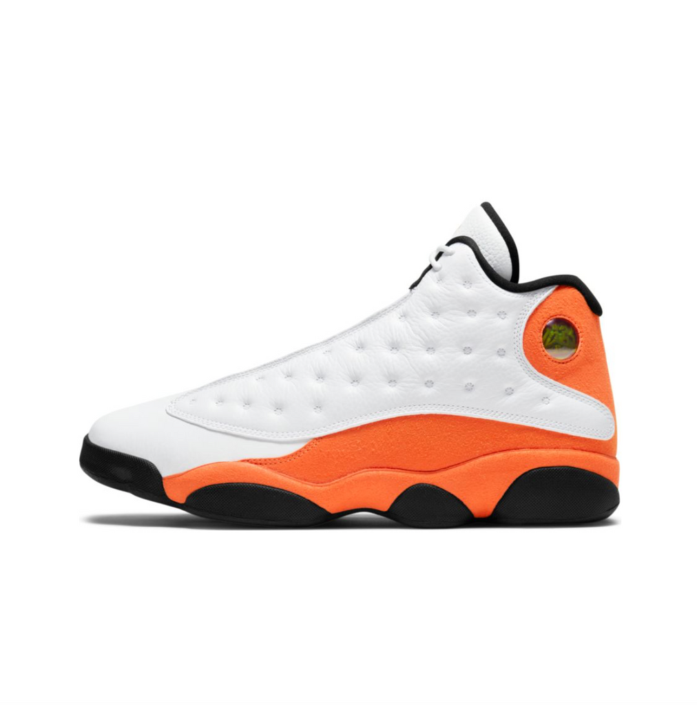 AIR JORDAN 13 RETRO - WHITE/STARFISH-BLACK
