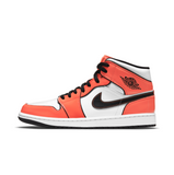 AIR JORDAN 1 MID SE - TURF ORANGE/BLACK-WHITE