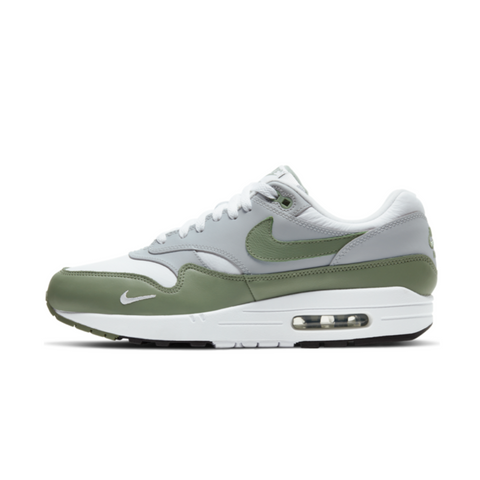NIKE AIR MAX 1 PREMIUM - WHITE/SPIRAL SAGE-WOLF GREY-BLACK