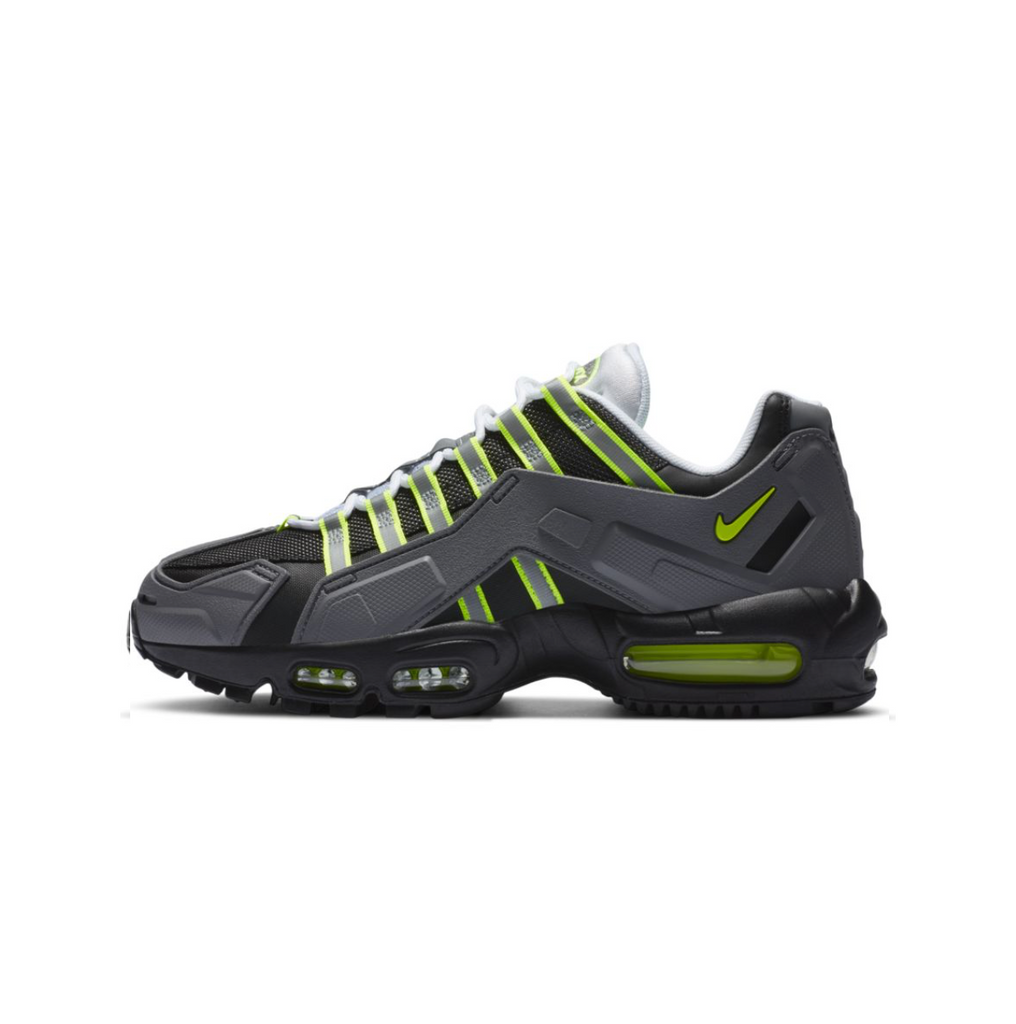 NIKE AIR MAX 95 NDSTRKT - BLACK/NEON YELLOW-MEDIUM GREY