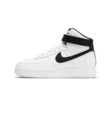 NIKE AIR FORCE 1 '07 HIGH -   WHITE/BLACK