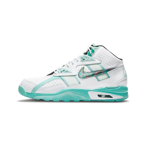 NIKE AIR TRAINER SC HIGH - WHITE/TROPICAL TWIST