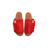 VISVIM CHRISTO SHAMAN-FOLK - RED