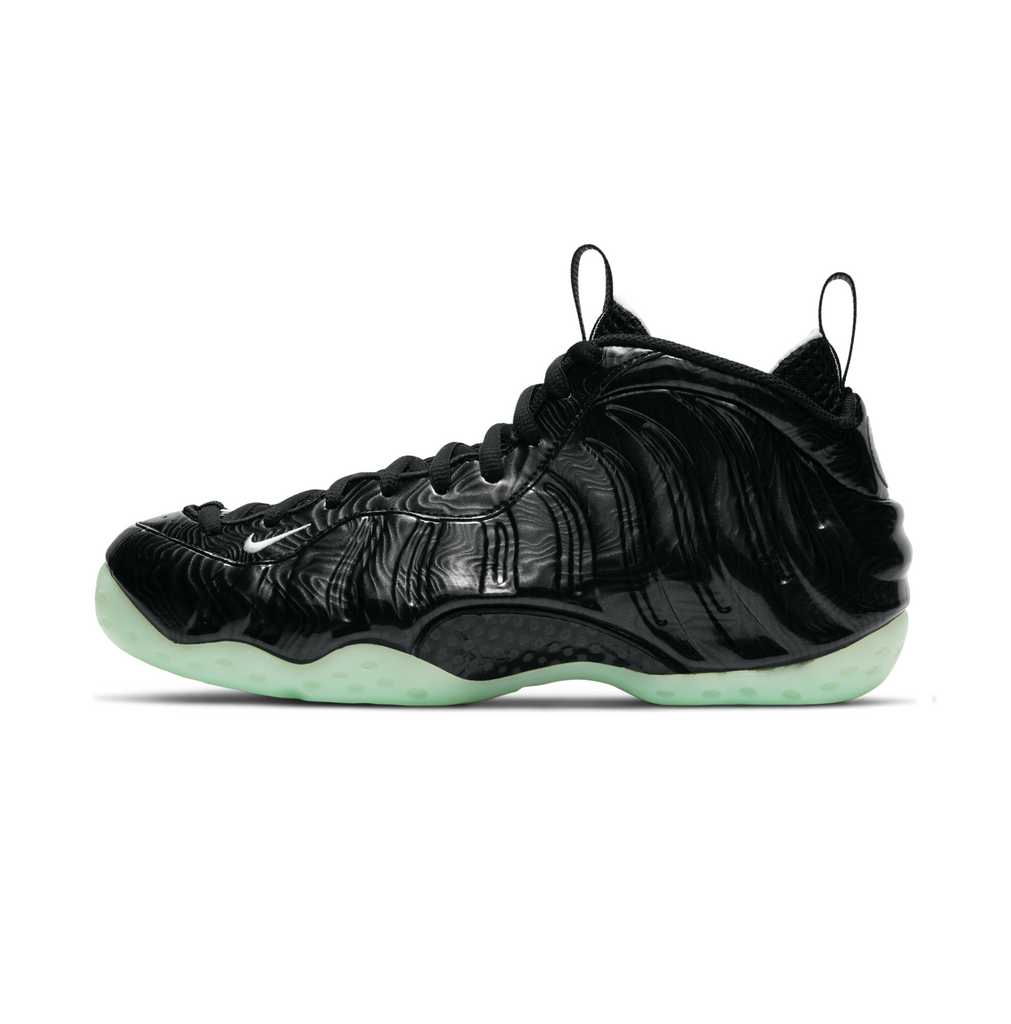 NIKE AIR FOAMPOSITE ONE - BLACK/BARELY GREEN