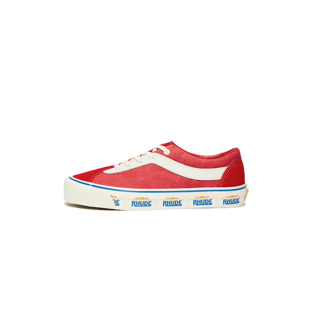 VANS X RHUDE BOLD NI - PLATE / RED