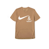 NIKE X UNDERCOVER NRG TC TOP SS POCKET - LICHEN BROWN
