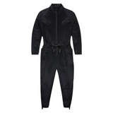 AIR JORDAN WOMEN'S FLIGHT SUIT - BLACK