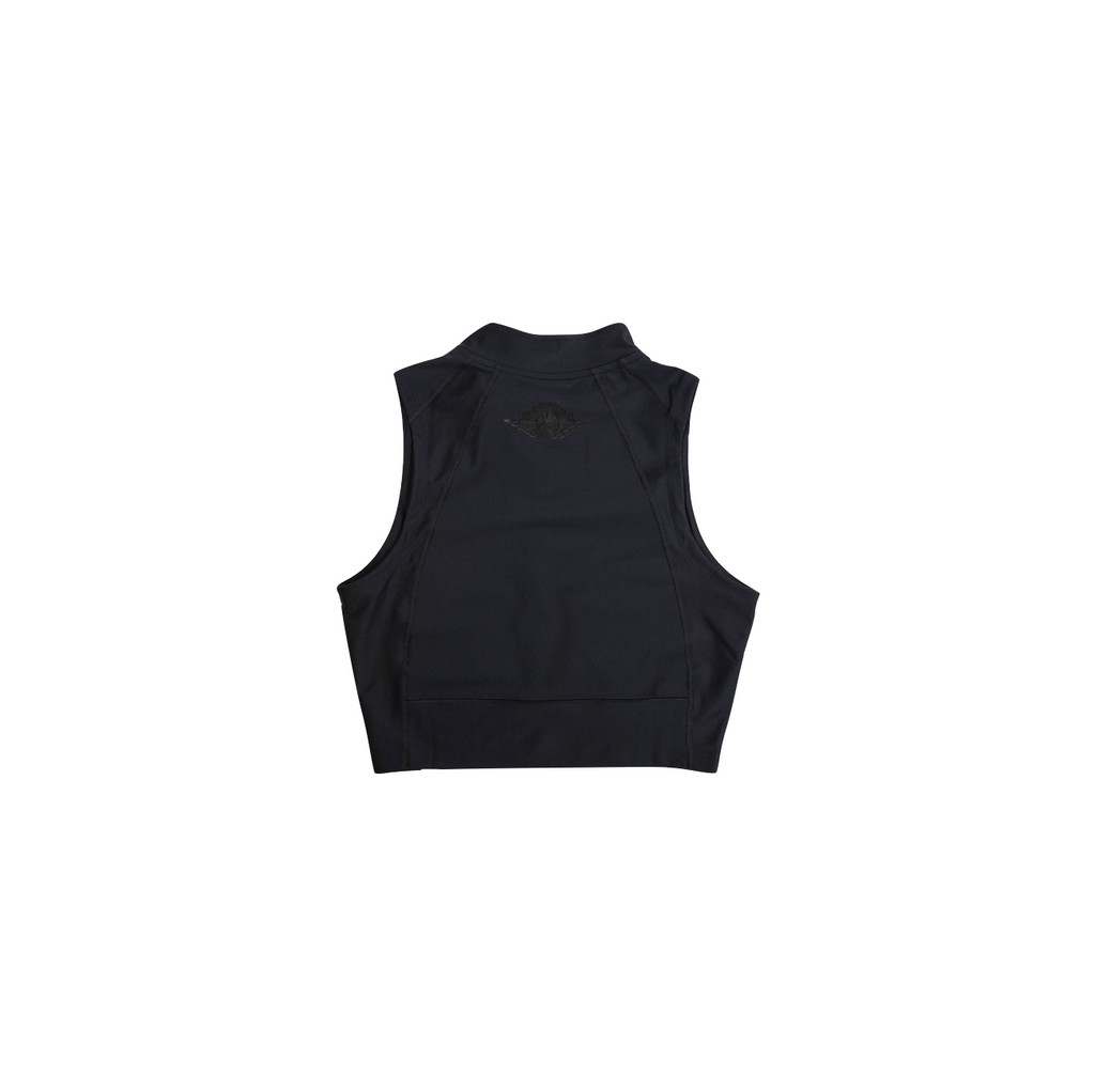 AIR JORDAN WOMEN'S CROP TOP - BLACK