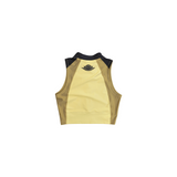 AIR JORDAN WOMEN'S CROP TOP - CLUB GOLD