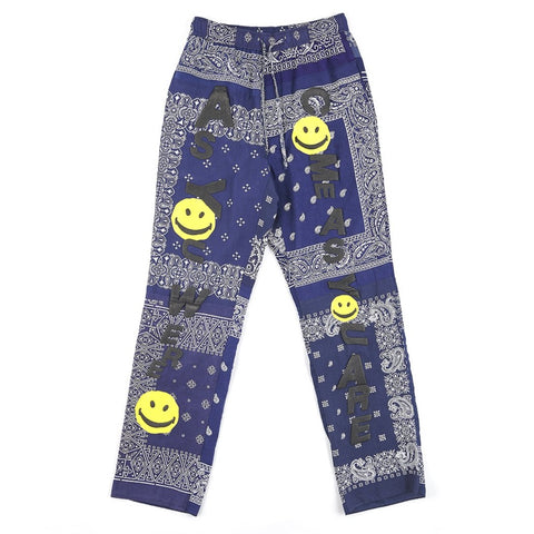 READYMADE SLEEPING PANTS (BANDANA) - NAVY