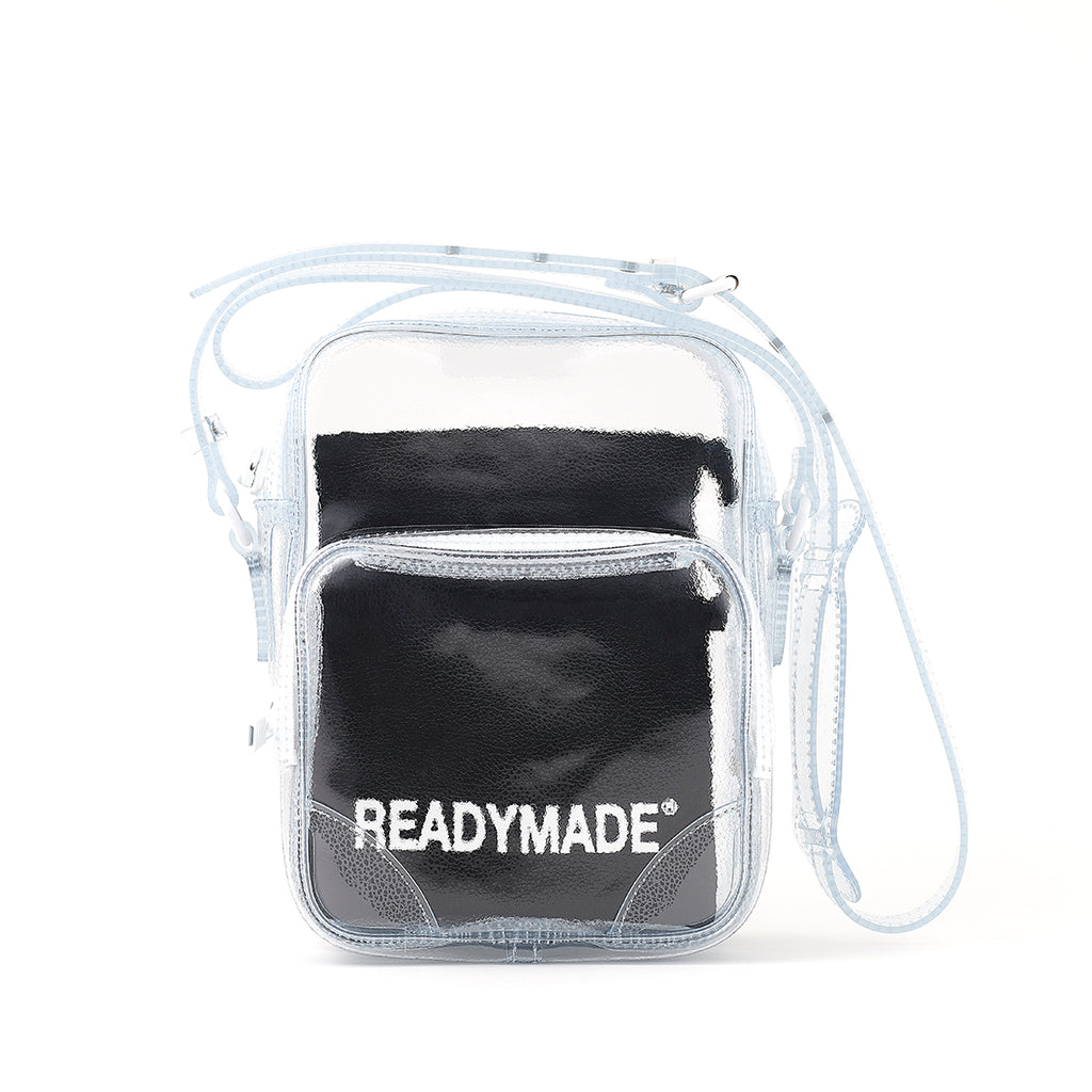 READYMADE PVC SMALL SHOULDER BAG - CLEAR