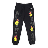 READYMADE SMILE SWEATPANTS - BLACK