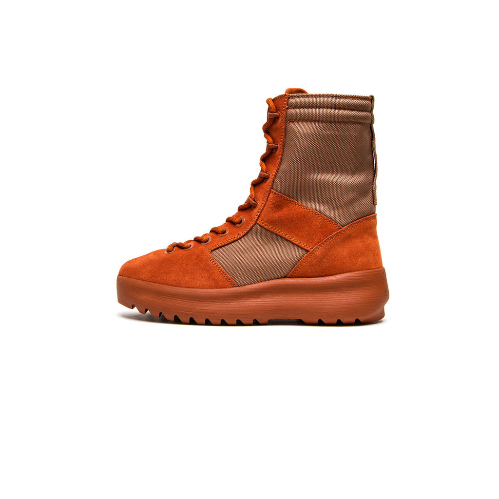 MEN'S MILITARY BOOT - BURNT SIENNA