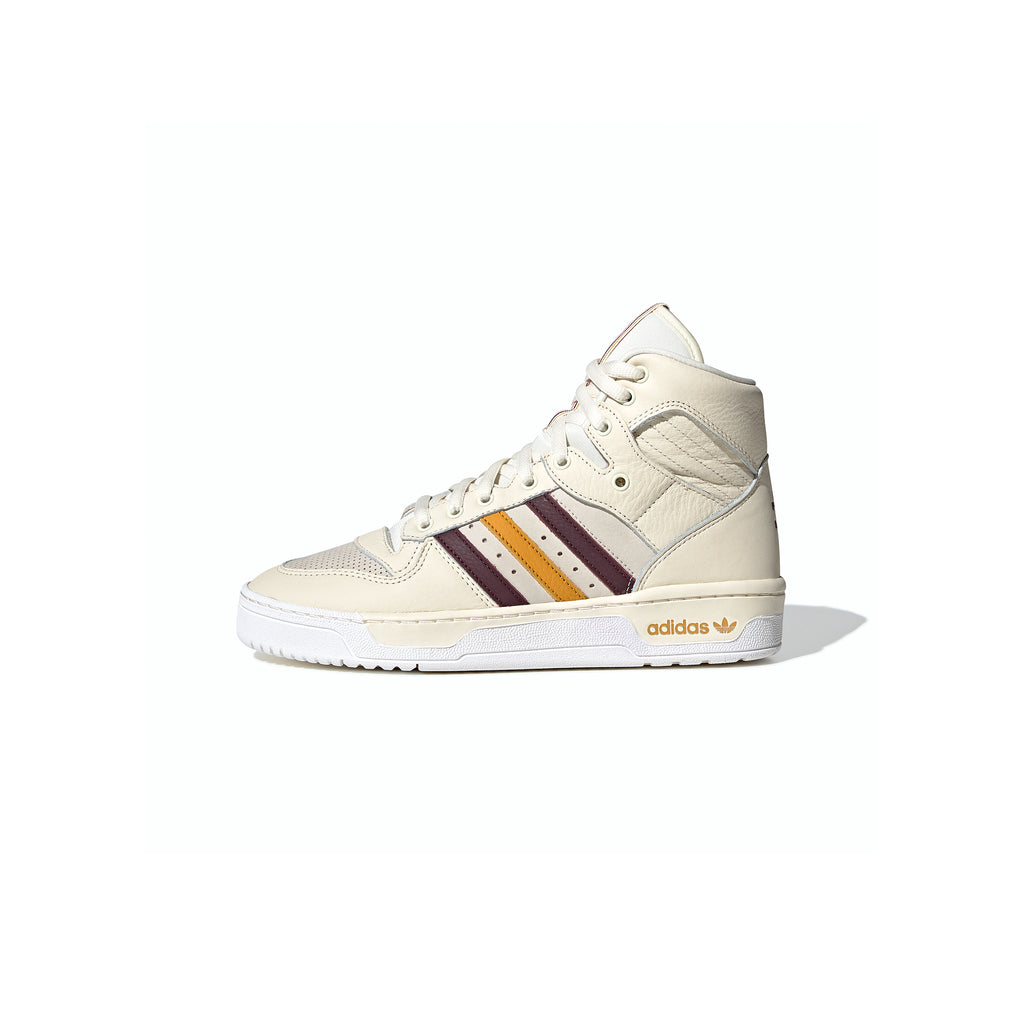 ADIDAS ORIGINALS BY ERIC EMANUEL RIVALRY HI  - CRYSTAL WHITE / NIGHT RED