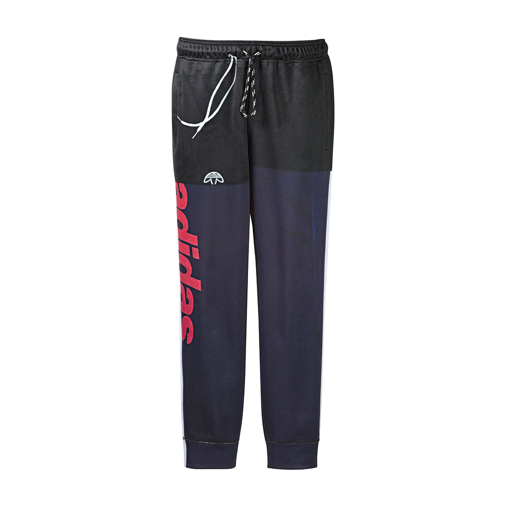 ADIDAS ORIGINALS x AW PHOTOCOPY TRACKPANTS - LEGENDARY INK/ SCARLET