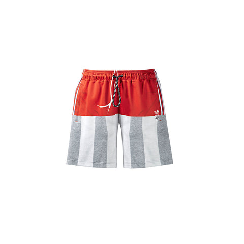 ADIDAS ORIGINALS x AW PHOTOCOPY SHORTS - ST BRICK