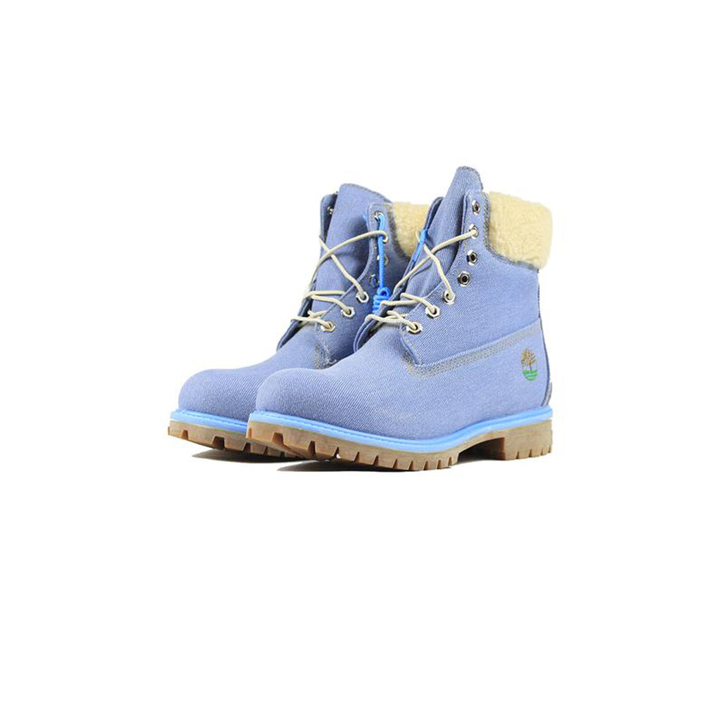 JUST DON x TIMBERLAND PREMIUM 6 INCH BOOTS  - BLUE