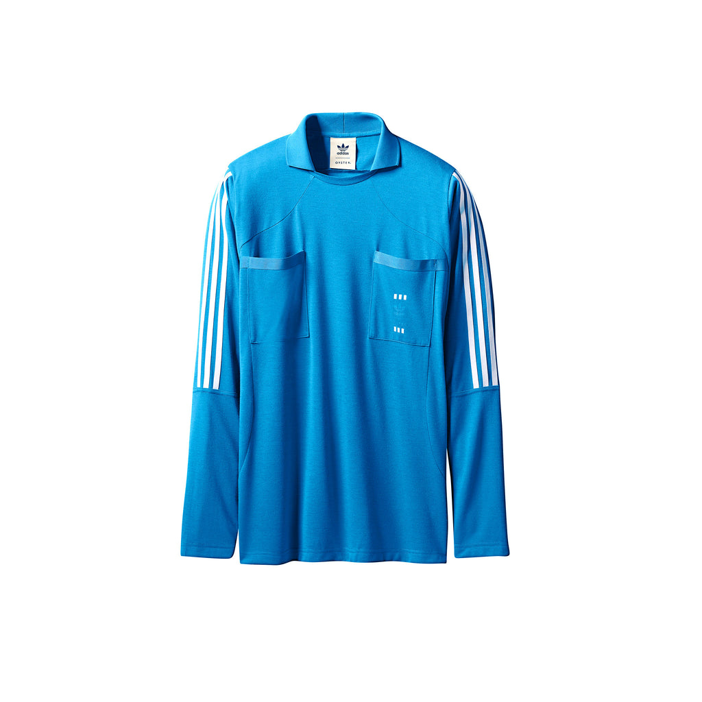 ADIDAS 48 HOUR LONG SLEEVE X OYSTER HOLDINGS - BRIGHT BLUE