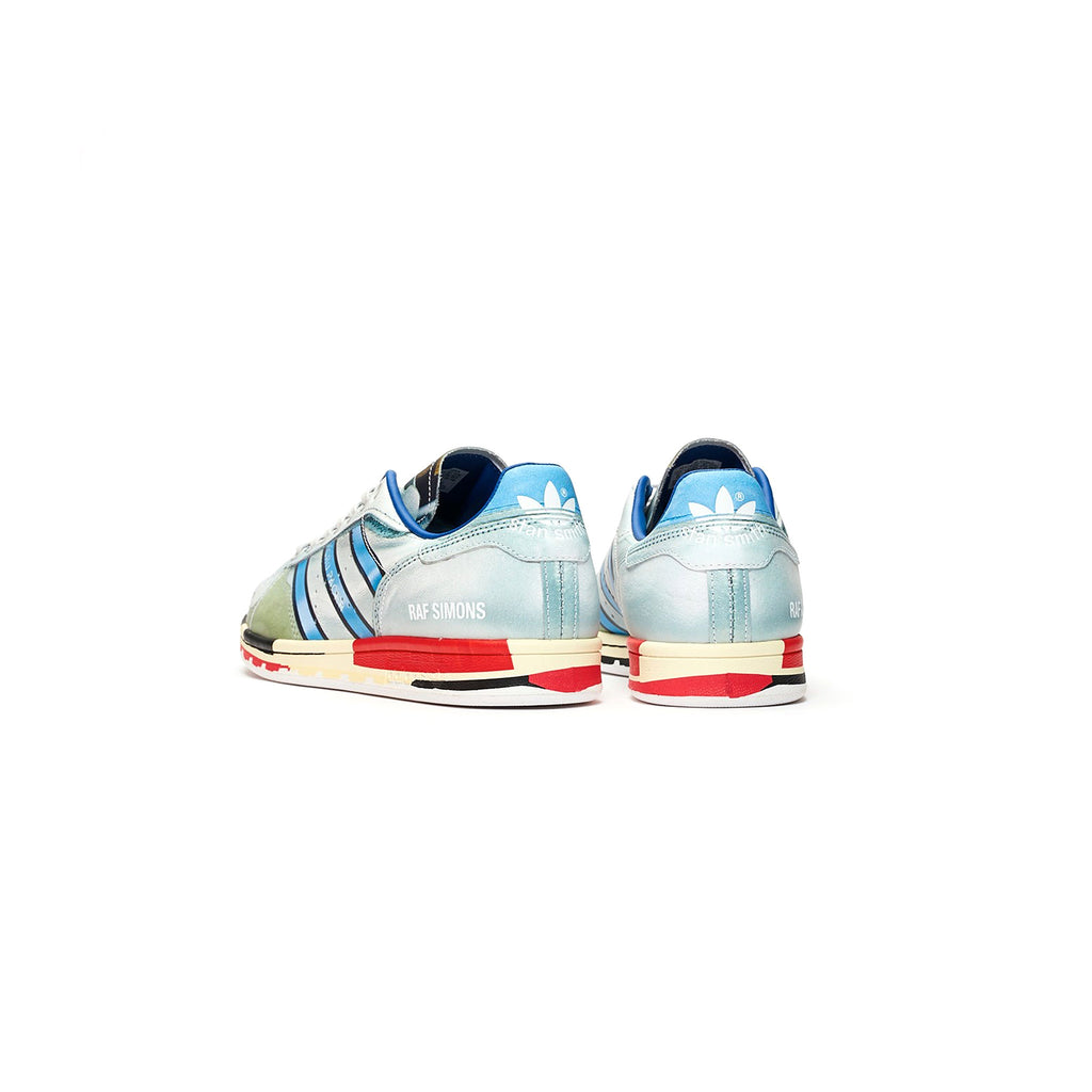 RS MICROPACER STAN SMITH SHOES - SILVER METALLIC / RED / RED