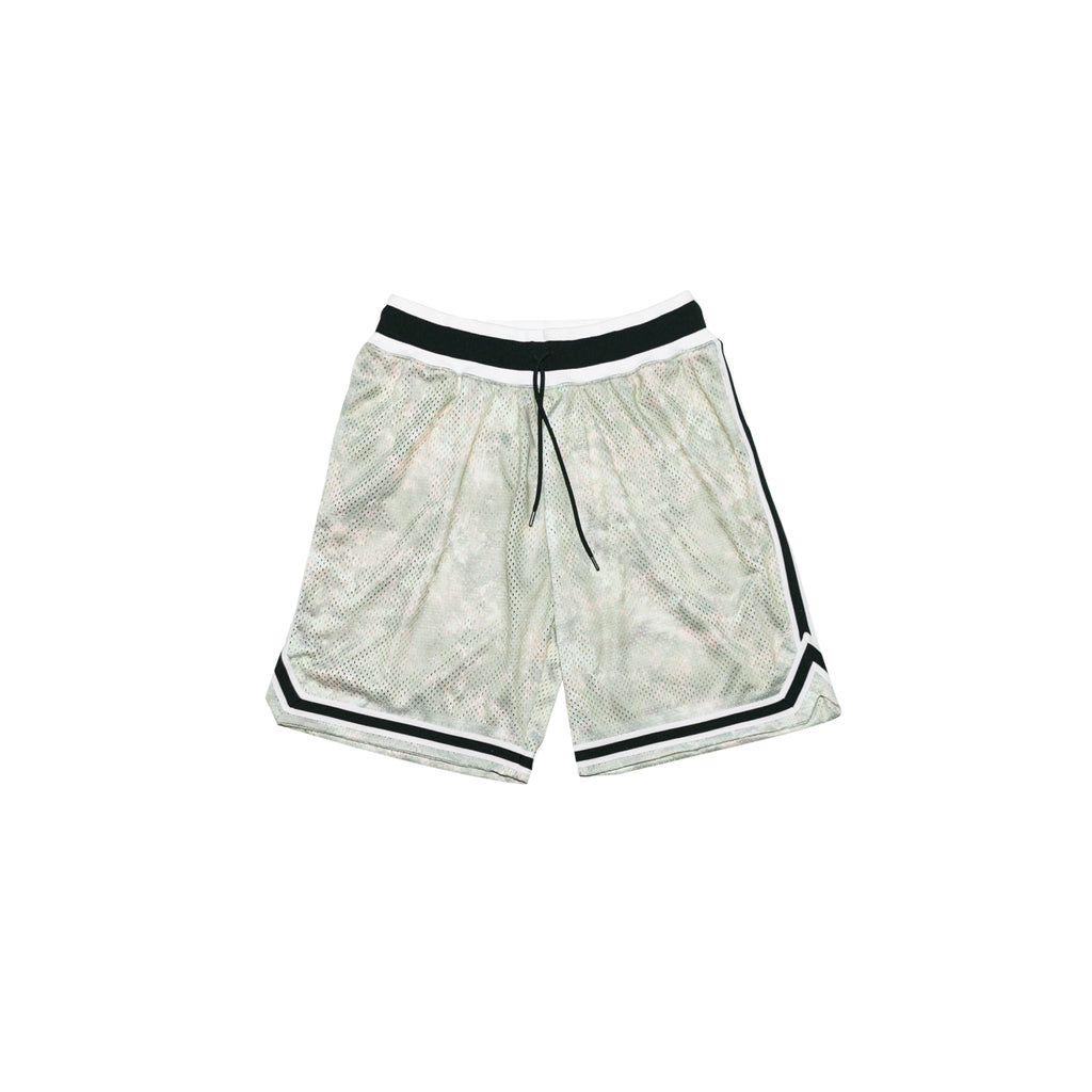 BASKETBALL SHORTS - TIE DYE TAN