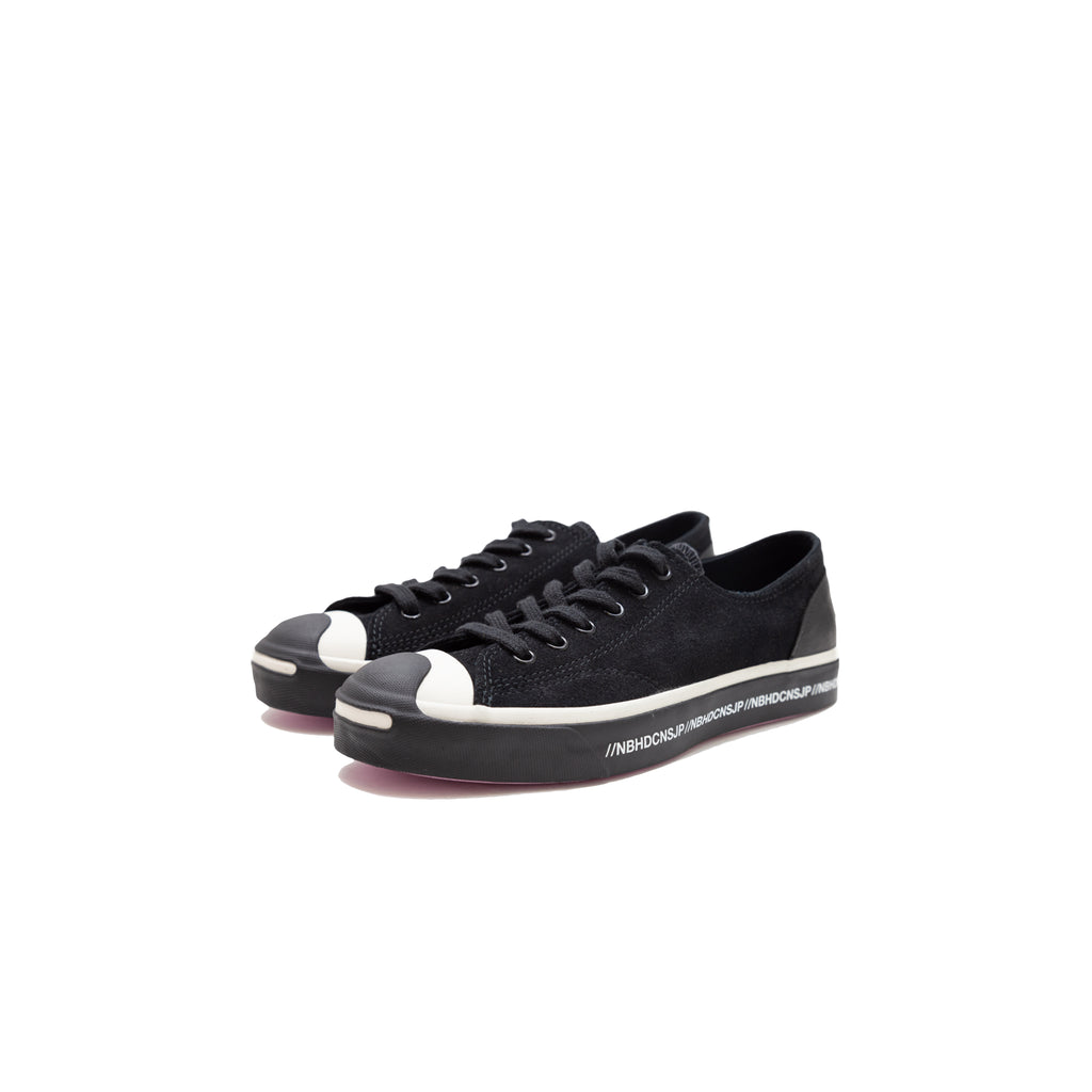 CONVERSE X NEIGHBORHOOD JACK PURCELL LOW - FRONT ANGLE VIEW