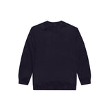 HEAVY TERRY CREWNECK SWEAT SHIRT - NAVY