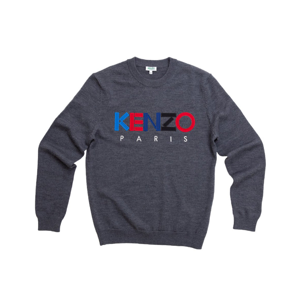COLOR LOGO PARIS KNIT - ANTHRACITE
