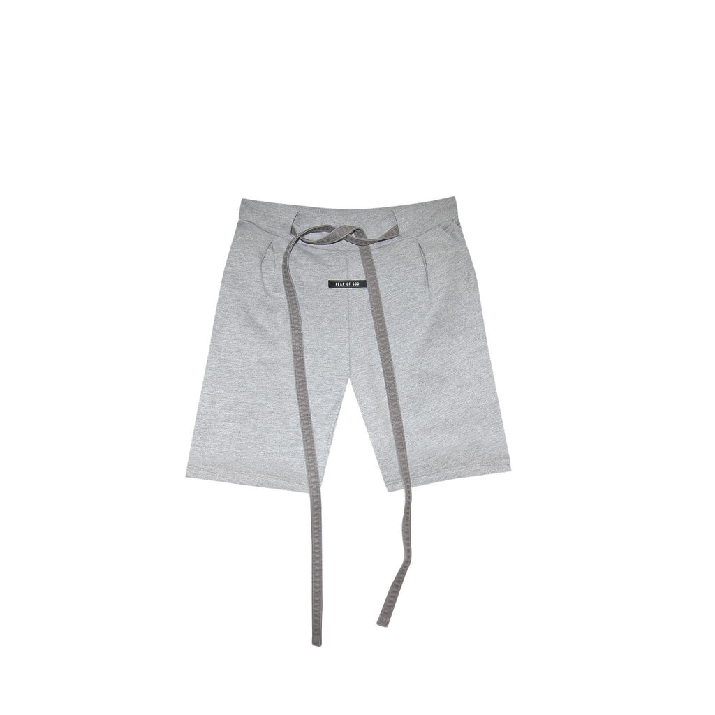 6TH COLLECTION LOUNGE SHORT - HEATHER GREY