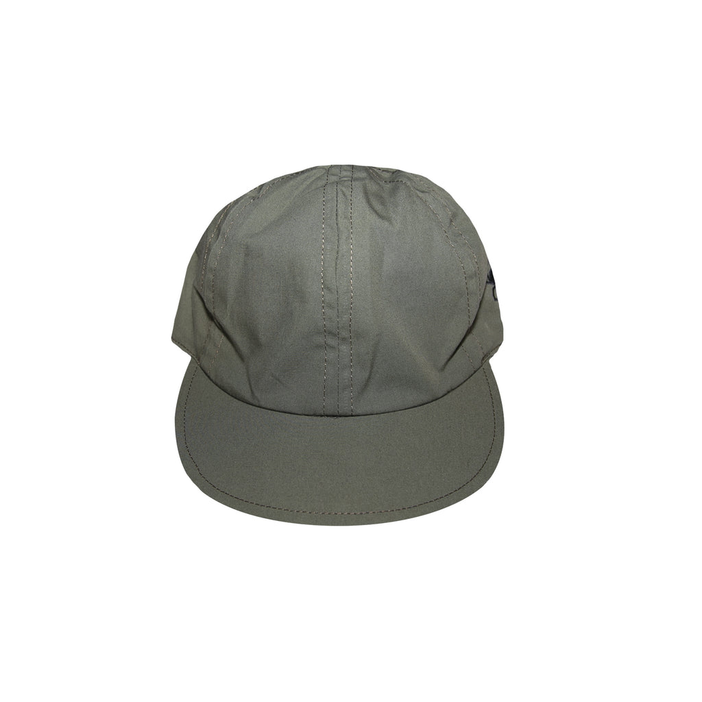 SACAI DR. WOO EMBROIDERED CAP - KHAKI