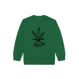 HIGH LIFE RAGLAN SWEATSHIRT - GREEN
