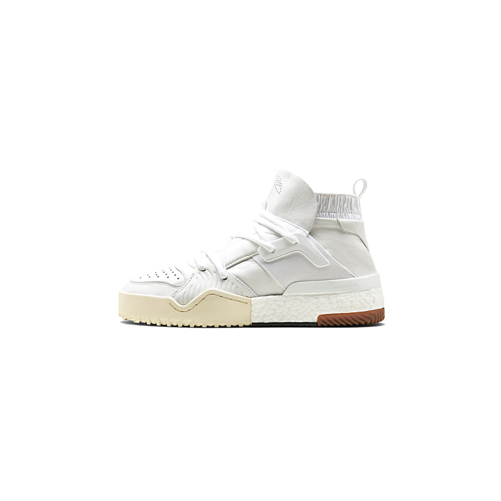 ADIDAS ORIGINALS BY AW BBALL SHOES - WHITE/ WHITE