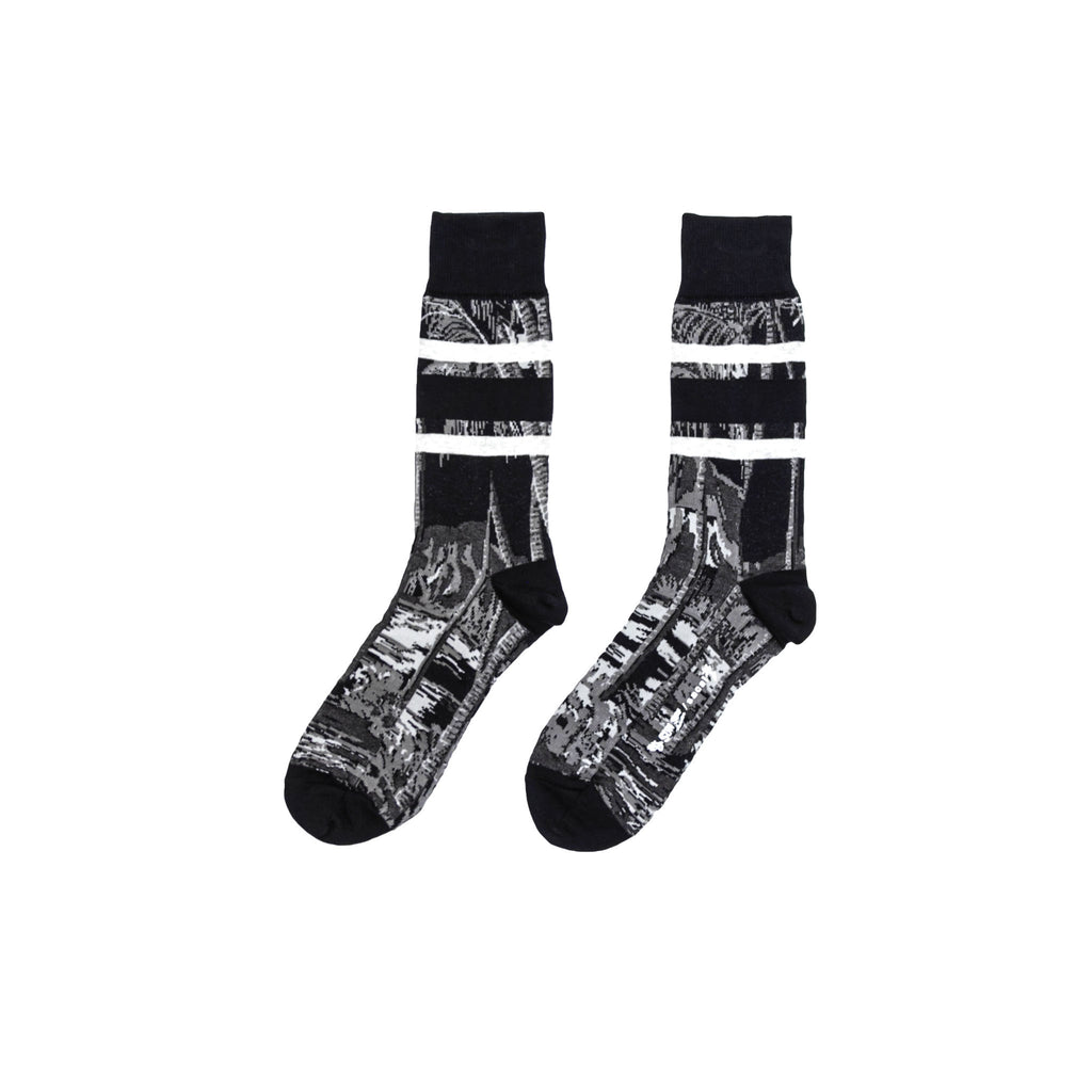 DIAMOND HEAD SOCKS - BLACK