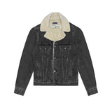 LEVI'S MADE & CRAFTED SHERPA TRUCKER JAKET - BLACK