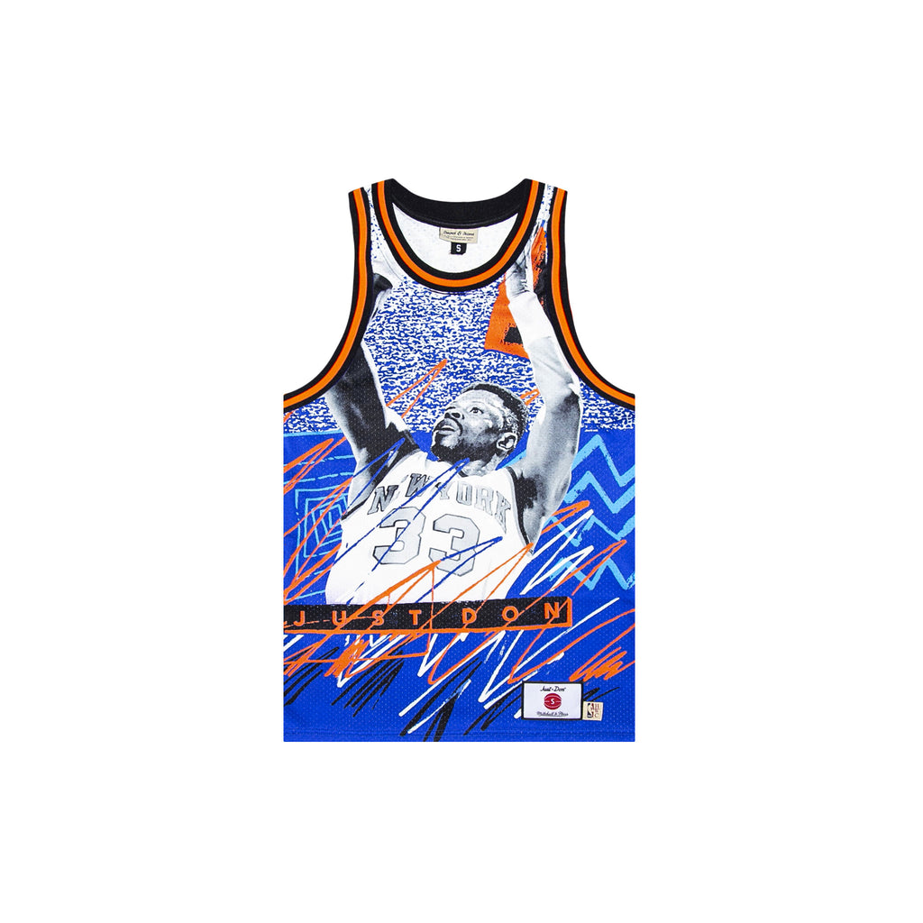 JUST DON SUBLIMATED JERSEY - KNICKS