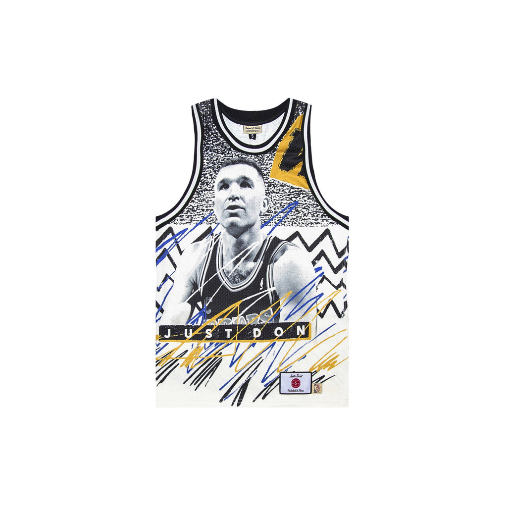 JUST DON SUBLIMATED JERSEY - WARRIORS