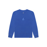 WASHED WINGS LONG SLEEVE TEE - HYPER ROYAL