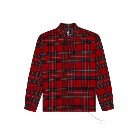 MASTERMIND WORLD FLANNEL - RED