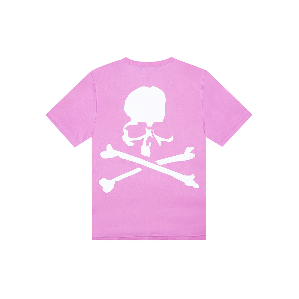 MASTERMIND WORLD MISSIONS LOGO SHORT SLEEVE TEE - PINK