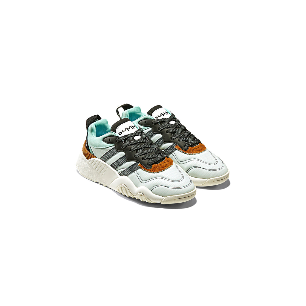 ADIDAS ORIGINALS BY AW TURNOUT TRAINER SHOES - CLEAR MINT/ CORE BLACK