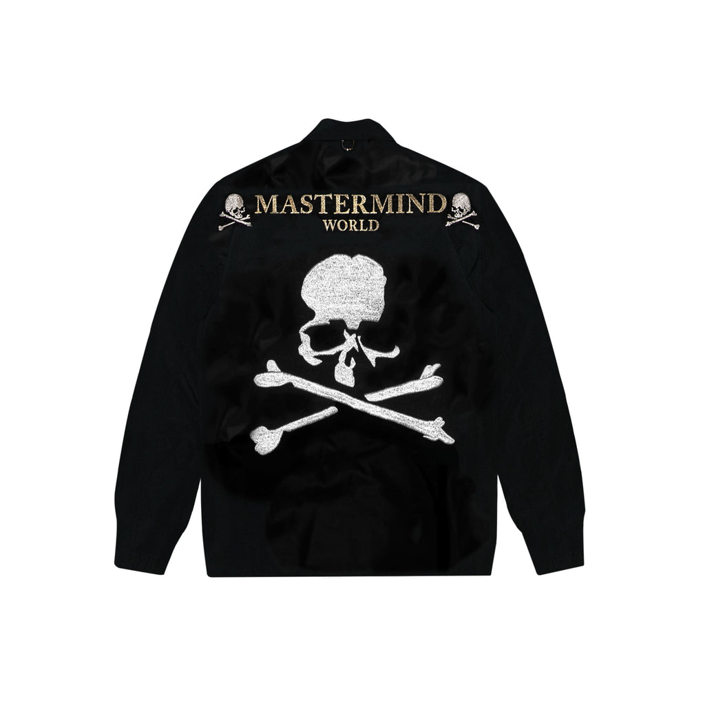 MASTERMIND WORLD COACHES JACKET - BLACK