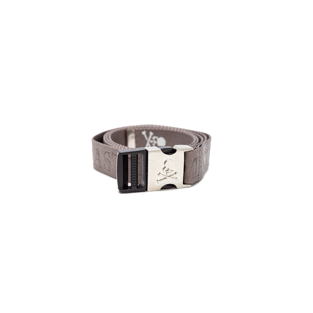 MASTERMIND SKULL TAPED BELT - GRAY